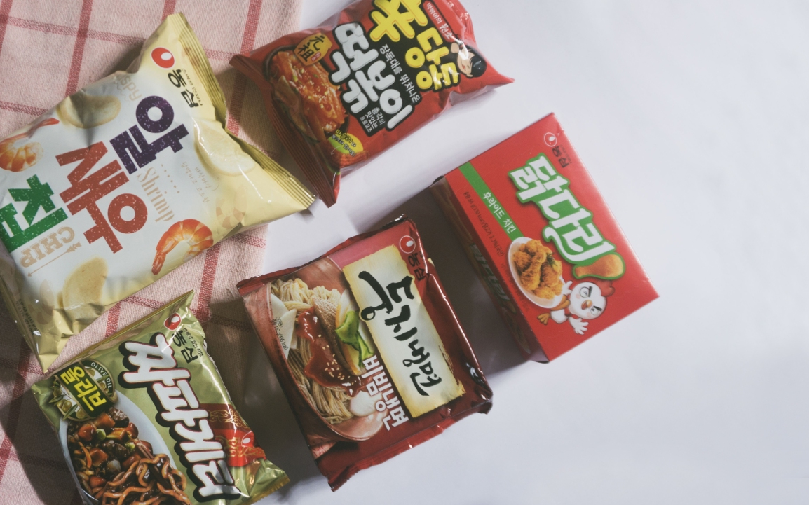 Korean Snack Haul